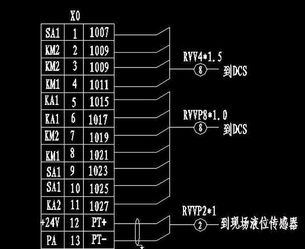端子排接线图怎么看_如何看懂接线端子排图
